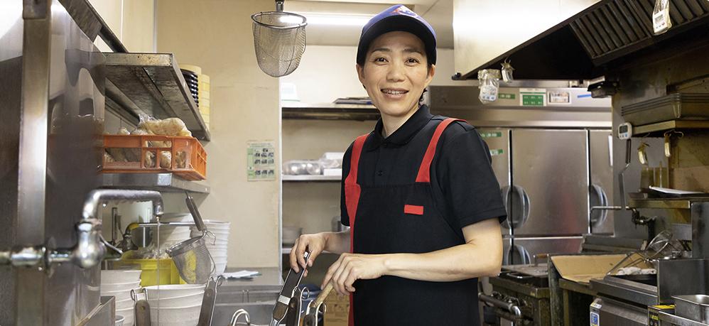 山田うどん 仕事内容 キッチン