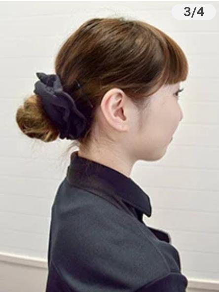 魚べい 髪型