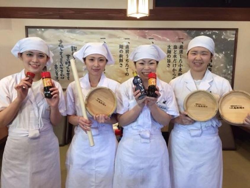 丸亀製麺 制服