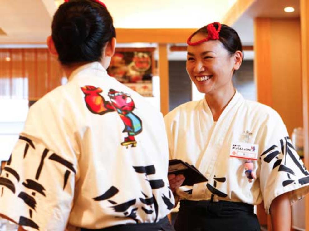 がってん寿司 仕事内容 ホール