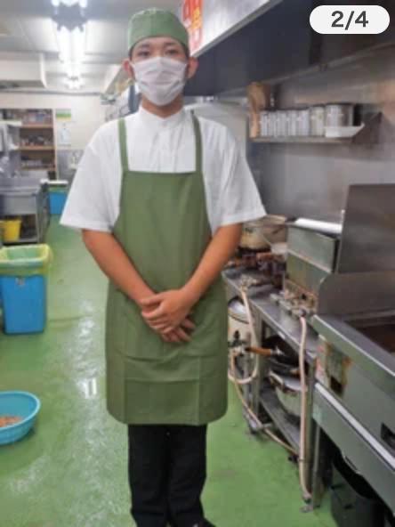銚子丸 制服 キッチン