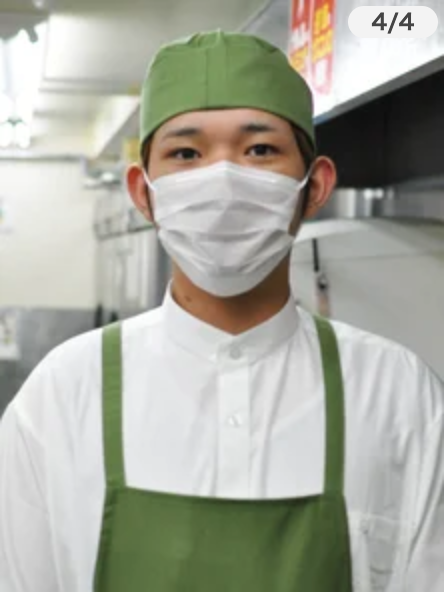 銚子丸 髪型 キッチン